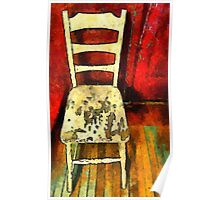 The Cream-Colored Chair Poster