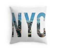 NEW YORK CITY. Throw Pillow