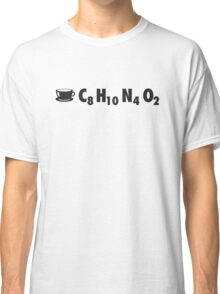 Coffee Chemistry: C8H10N4O2 Classic T-Shirt