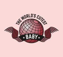 The World's Cutest Baby (Girl / Red) One Piece - Short Sleeve