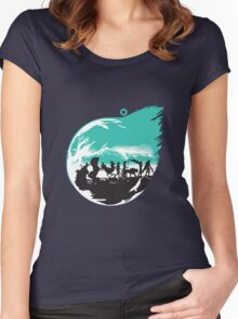 Final Fantasy 7 Women's Fitted Scoop T-Shirt