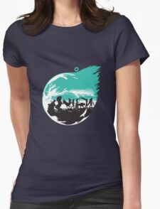 Final Fantasy 7 Womens Fitted T-Shirt