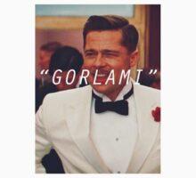 Inglourious Basterds 'Gorlami' Brad Pitt T-Shirt by euanmcginty