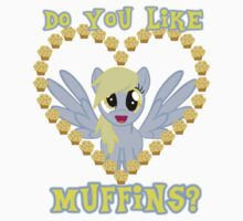 Do You Like Muffins? - Derpy Hooves Kids Clothes