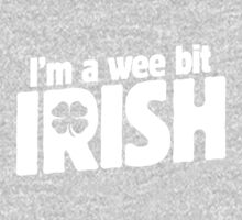 I'm a wee bit Irish for St. Patrick's Day One Piece - Long Sleeve