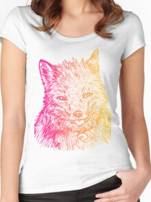Sly Fox - Warm Women's Fitted Scoop T-Shirt