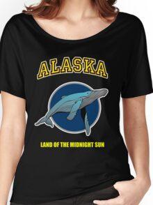 Alaska Midnight Sun Women's Relaxed Fit T-Shirt