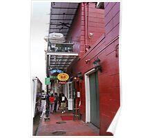 New Orleans Restaurant Poster