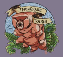 Tardigrade Tough Crest Kids Tee