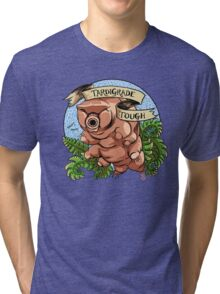 Tardigrade Tough Crest Tri-blend T-Shirt