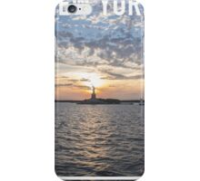 NEW YORK FRAME iPhone Case/Skin