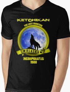 Ketchikan Alaska 1900 Mens V-Neck T-Shirt