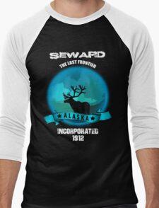 Seward Alaska 1900 Men's Baseball ¾ T-Shirt