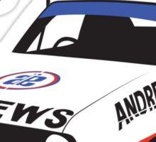 Ford Escort Mk2 Rally Car Sticker