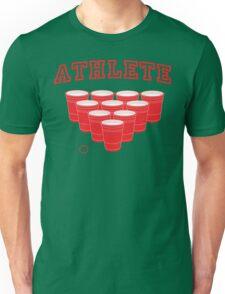 Beer Pong Athlete Unisex T-Shirt