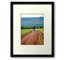 Jeep Safari Framed Print
