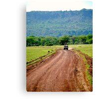 Jeep Safari Canvas Print