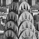 Chrysler Building Detail, New York City, William Van Alen by Crystal Clyburn