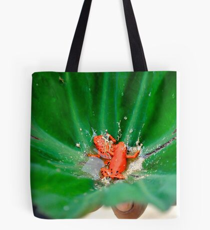 Red Frog Beach Tote Bag
