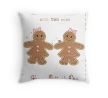 Mother's Day: Two Moms Throw Pillow