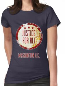Justice For All Womens Fitted T-Shirt