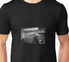 Playing on Llantwit Major Beach, Wales, UK Unisex T-Shirt