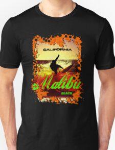 Malibu Beach Surfer T-Shirt