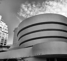 Guggenheim Museum, New York City, Frank Lloyd Wright by Crystal Clyburn