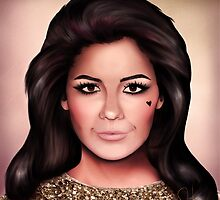 Marina and the Diamonds - Portrait by solfortuny