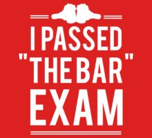 I Passed The Bar Exam by partyanimal