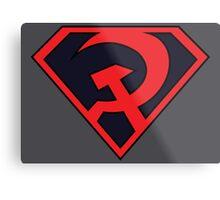 Red Son - Superman Metal Print
