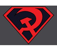 Red Son - Superman Photographic Print