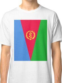 Eritrea Flag Banner Classic T-Shirt