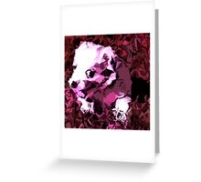 Another puppy Greeting Card
