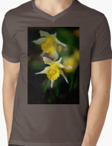 wild daffodils Mens V-Neck T-Shirt