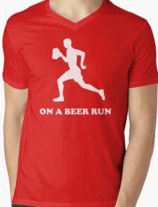 On a Beer Run Mens V-Neck T-Shirt