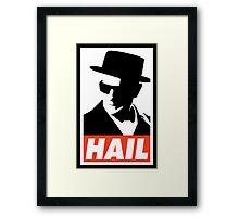 Hail the King Framed Print
