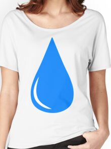 Water Droplet Women's Relaxed Fit T-Shirt