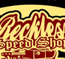 hot rod reckless 3 Sticker