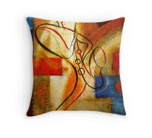 FREE FUNK JAZZ Throw Pillow