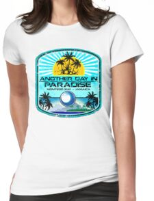 Montego Bay Jamaica Womens Fitted T-Shirt