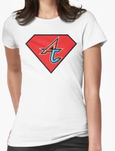 Adventure Club Superheroes Anonymous Womens Fitted T-Shirt