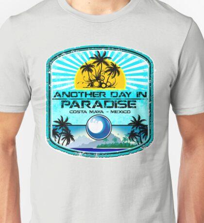 Costa Maya Ocean Blue  Unisex T-Shirt