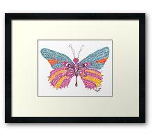 Butterfly Blogger Original Art Framed Print
