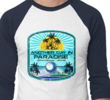 Copacabana Beach Brazil Men's Baseball ¾ T-Shirt
