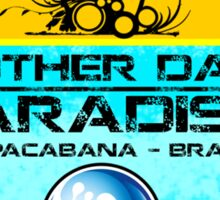 Copacabana Beach Brazil Sticker