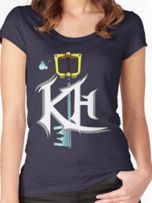 KH Logo Shirt Women's Fitted Scoop T-Shirt