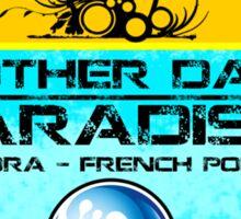 Bora Bora Surfer Paradise Sticker