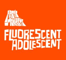 Fluorescent Adolescent - Single (White) by tynamite