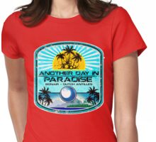 Bonair Beach Party Womens Fitted T-Shirt